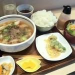 神戸のきしめん - 日替わりお昼のおすすめメニュー750円 11時から14時まで