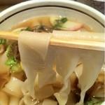神戸のきしめん - きしめん太麺・リフト