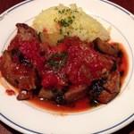チキンバル ヴァンテオ - 2012年12月18日「仔羊と野菜 トマト煮込み ペルノー酒風味」
