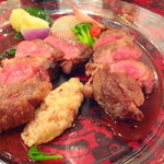 Bistro BeBe - 奄美のエゾシカ肉のロースト ◎