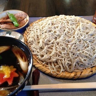吉田屋 玄庵 - 料理写真:鴨ざるの全体像