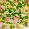 クゥーチャイ - 料理写真:すっきりとした味わいの芳寿豚をしっかり炙ってお召し上がり頂く芳寿豚の炙りandムーマナオ