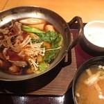 咲くら - 牛鍋定食