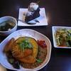 フライング・スコッツマン - 料理写真:【再訪 H24.11】ドライカレーセット(500円)+ラズベリーショコラ(300円)