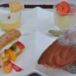 アルチザン・パティシエ・イタバシ - ●09.06.06:お菓子四種盛り合わせ