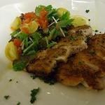 イタリア食堂Makino - ☆三河地鶏のソテー  粒マスタード添え☆