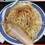 山岸一雄製麺所 - ・「角ふじ麺 野菜増し(\750)」