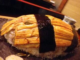 梅若寿し - 寿司にはあり得ない迫力!