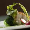 フレンチレストラン Nature - 料理写真:程よい食感の『島根県産スズキのポワレホーレン草のソース』』