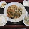 同心房 - 料理写真:上海風焼きそば 定食680円