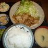 キッチンさくら - 料理写真:豚バラ生姜焼き定食