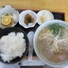つがわ食堂 - 料理写真:中華そば定食(650円)