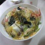 和洋食 山栄 - 料理写真:木の葉丼¥500