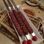 レストラン ザクロ - 2012年12月22日 シシカバブ たぶん羊