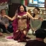 レストラン ザクロ - 2012年12月22日「中東音楽とベリーダンス」ノーラさん