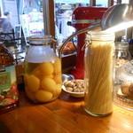 エル パト - カウンター上の食材