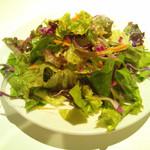 小皿イタリアン バロンドール - +250円でセットにできるサラダ。お皿が小さいのよね。。。