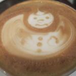 ナガハマコーヒー - クリスマス3日前のアート