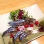 みやび - 〆鯖 炙り焼霜造