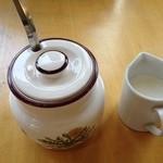 開花亭 - 食後にコーヒーを注文しました。