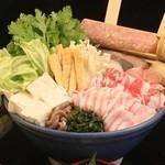 味喰笑 - 料理写真:自慢のちゃんこ鍋です
