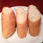 シェ・ミカワ - 1回目2012年12月25日パンかライスを選べ、お替りできます