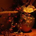 黒門燈 - 個室の飾り