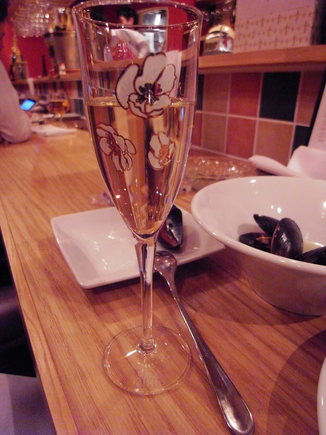 ル・コントワール・ド シャンパン食堂