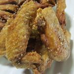 鶏料理 から揚げ専門 お福 - 手羽先