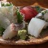磯や - 料理写真:朝どれ刺身定食の刺身。