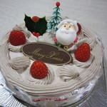 シャンテーコジマ - クリスマス☆生チョコケーキ♪