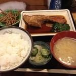 みちのく - 煮魚定食(金目鯛) 750円