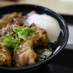 吉野家 - 半熟卵鶏つくね丼大盛りだい♪