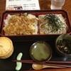 北のそば和佳亭 - 料理写真:あなご天丼とおそばのセット♪