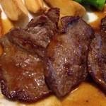 シェ・ミカワ - 2回目2012年12月27日北海道産 鹿肉のステーキ