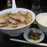 坂内 - 焼豚ラーメン & ライス