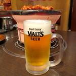 やぶ屋 - ビール追加!