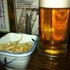 生つくね元屋  - 料理写真:ビールとサービスのお通し