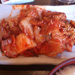 16578228 - ランチの豚キムチ