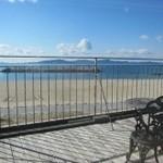 サンゴショウ - 席から見える海