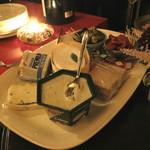 レザール - チーズの盛り合わせ