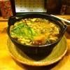わらや - 料理写真:名古屋赤だし鍋(きしめん)
