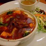 イタリア厨房 シュン・ヨコハマ - 光のページェント限定特選セット(じっくり煮込んだビーフシチューと温野菜のドリア)