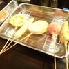 大阪串カツ 大益 - 料理写真:おまかせの串揚げ