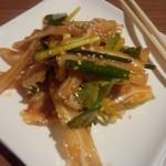 百菜百味 - 【ディナー初回訪問】 豚耳の・・・・