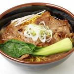麺屋 開高 - 帯広名物「豚丼」がラーメンになりました。