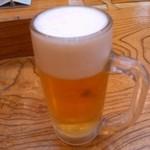 七福の湯 - 生ビール