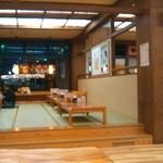 七福の湯 - 食事処の座敷
