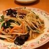 餃子の王将 - 料理写真:レバニラ炒め