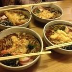 たむら。 - 天ぷら蕎麦@2012.12.31